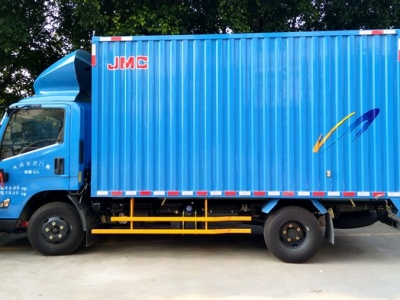 四米厢式货车